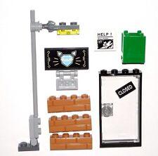 LEGO Jewelry Store Signs/Door/Bricks/Street Light Super Heroes 70902