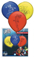 8 Avengers Latex Balloons - Helium/Air Quality Colour Birthday Party Balloons