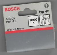 Tacker NÄGEL Typ 48 ,14 mm  -1000 Stück  für Bosch PTK 14 E-Bosch