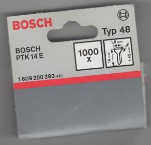 Staple Gun Nails Type 48, 14 MM -1000 Piece For BOSCH Ptk 14 E-Bosch