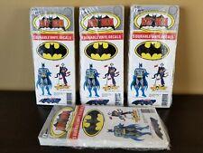 Huge Lot 200 1982 Batman Vinyl Stickers Sheet DC Comics Randor Joker Batmobile