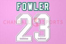 Fowler #23 1994-1995 Liverpool Homekit Nameset Printing