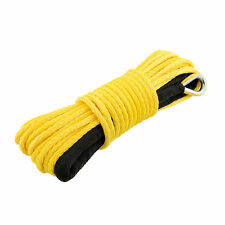 10mm X 24m Dyneema SK75 Synthetic Winch Rope Offroad Car Tow Recovery Cable 4x4