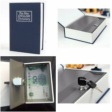 Dictionary Book Safe Diversion Secrets Locks Keys Hidden Security Stash Booksafe