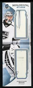 2015-16 Upper Deck The Cup Monumental Sticks Booklets 2/20 Jonathan Quick #MS-JQ