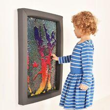Sensory Play Soft Frame Flip Sequin Board