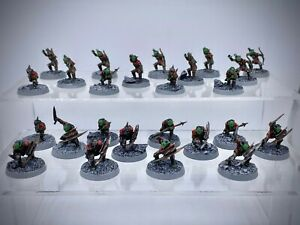 The Lord of the Rings - 25 Moria Goblins painted