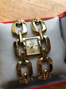 GUESS Ladies GOLD Watch - good condition, with original box.