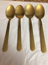New Stainless Steel Gold Spoons