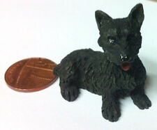 Dog 7 Scottie Dolls House Miniature Pets & Animals 1/12 scale, Doggy