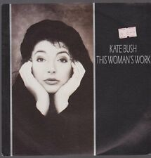 "7"" Kate Bush This Womans Work / Be Kind To My Mistakes 80`s EMI"