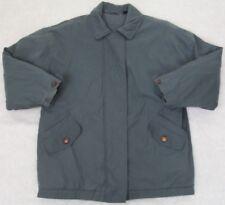 Aeros Jacket Coat Medium Solid Green Polyester Nylon Outerwear Lined WoMen's