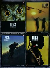 Leica Fotografie édition française n°2/1973, n°1 et 5/1976, n°1/1977