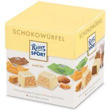 RITTER SPORT - Chocolate Cube Box - WHITE CHOCOLATE - German Product