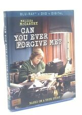 Can You Ever Forgive Me? (Blu-ray+DVD+Digital, 2019) NEW with Slipcover