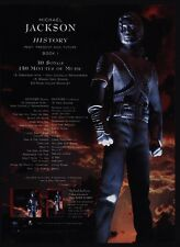 1995 MICHAEL JACKSON History Album Release VINTAGE ADVERTISEMENT