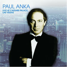 PAUL ANKA ~ LIVE IN CONCERT AT CAESARS PALACE LAS VEGAS NEW AND SEALED CD