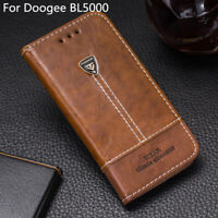 For Doogee BL5000 Phone Case Flip PU Leather Cover Book Stand Wallet CARD Slot