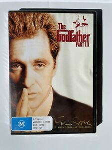 The Godfather : Part 3 : NEW & SEALED - DVD - REGION 4