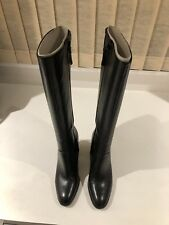 Nine West Women's Nathanlie Riding Boot - 6M - Black - Preowned w Inserts & Box