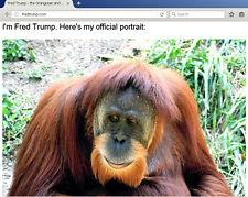 Fred Trump Website Donald Trump Spoof