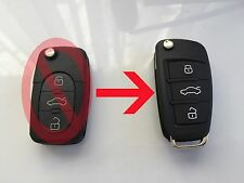 Z AUDI CONVERSOR Mando Completo 3b 4D0 837 231 A A3 A4 A6 S3 TT Llave Key Remote