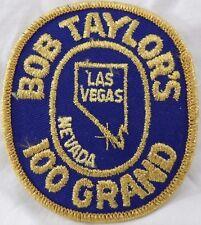 Bob Taylors 100 Grand Las Vegas Nevada Trap Shooters Tournament Vintage Patch