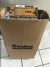 Crathco - Dispenser Bowls,Lids & Other Accesories D35-3