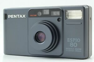 [N.Mint] Pentax Espio 80 Black Point & Shoot 35mm Film Camera From JAPAN #1146