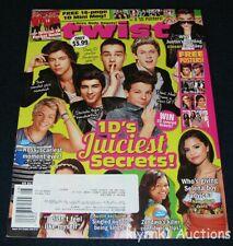 Twist Magazine August 2013 One Direction Selena Big Time Rush Justin Ross Cody
