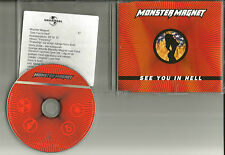 MONSTER MAGNET See You In Hell RARE RADIO MIX UK Made PROMO DJ CD Single 1999