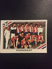 Panini - Mexico 86 World Cup 147 Paraguay Team