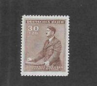 MNH stamp 30 + 20 hal / Adolph Hitler 1942 Birthday WWII Third Reich Occupation