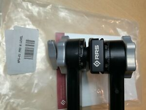 Really Right Stuff PG-01 Compact Pano-Gimbal Head with Screw-Knob Clamp and Leve