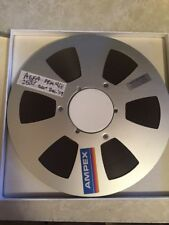 "New AGFA PEM 468 Master Tape on Ampex reel NAB size 10.5 Inch 1/4"" recording"