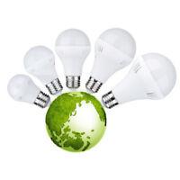3/5/7/9/12W Pur / Chaud 220V AC Lumière De La Terre E27 Ampoule Lampe à LED