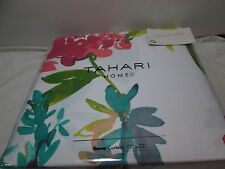Tahari Home GIACOMO WILD FIORE Floral Shower Curtain 72x72 ~ Multi Color Flowers