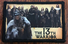 The 13th Warrior Movie Cast Morale Patch  Tactical Military Army Badge Hook Flag