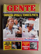 GENTE n°28 1982 Carolina di Monaco Roberto Calvi Lady Diana [D36]