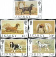 gb-Jersey 430-434 (édition complète) neuf 1988 Chiens