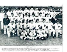 1964 PORTLAND BEAVERS PCL TEAM 8X10 PHOTO  JOHN BANKS  BASEBALL AAA OREGON