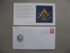 NETHERLANDS, eventcover freemasonry 1981, slogan canc. 225 years Amsterdam