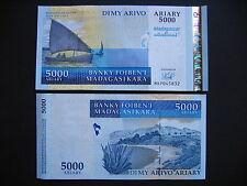 MADAGASCAR  5000 Ariary 2007 Commemorative Issue  (P94a)  UNC
