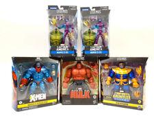 Hulk Eel Thanos Apocalypse Action Figure MARVEL LEGENDS Hasbro Lot 5x NEW
