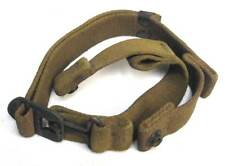 US Paratrooper Helmet Chinstrap WW2 M1C Swivel Bale Airborne WWII OD#3 AGED