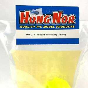 Hong Nor New Tms 27y Hi Down Force Wing Yellow X-ray Model Product