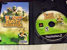 Worms Forts: Under Siege (Sony PlayStation 2, 2005)