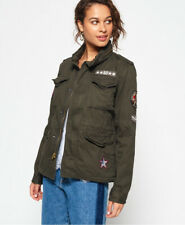 Superdry Womens Winter Rookie Military Patch Jacket