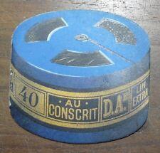 """Calendrier 1939 Fil """"Au conscrit"""" D Aé Au pingouin Pub Couture Mercerie"""