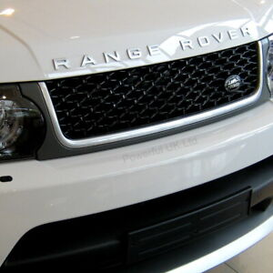 """Grey Silver Black """"Autobiography style"""" grille to fit Range Rover Sport 2010 on"""